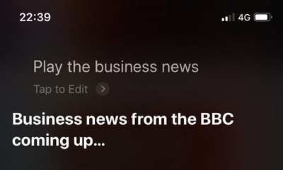 how to get siri to play a news brief03