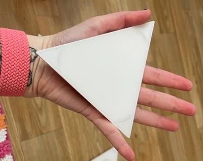 mini triangles size palm