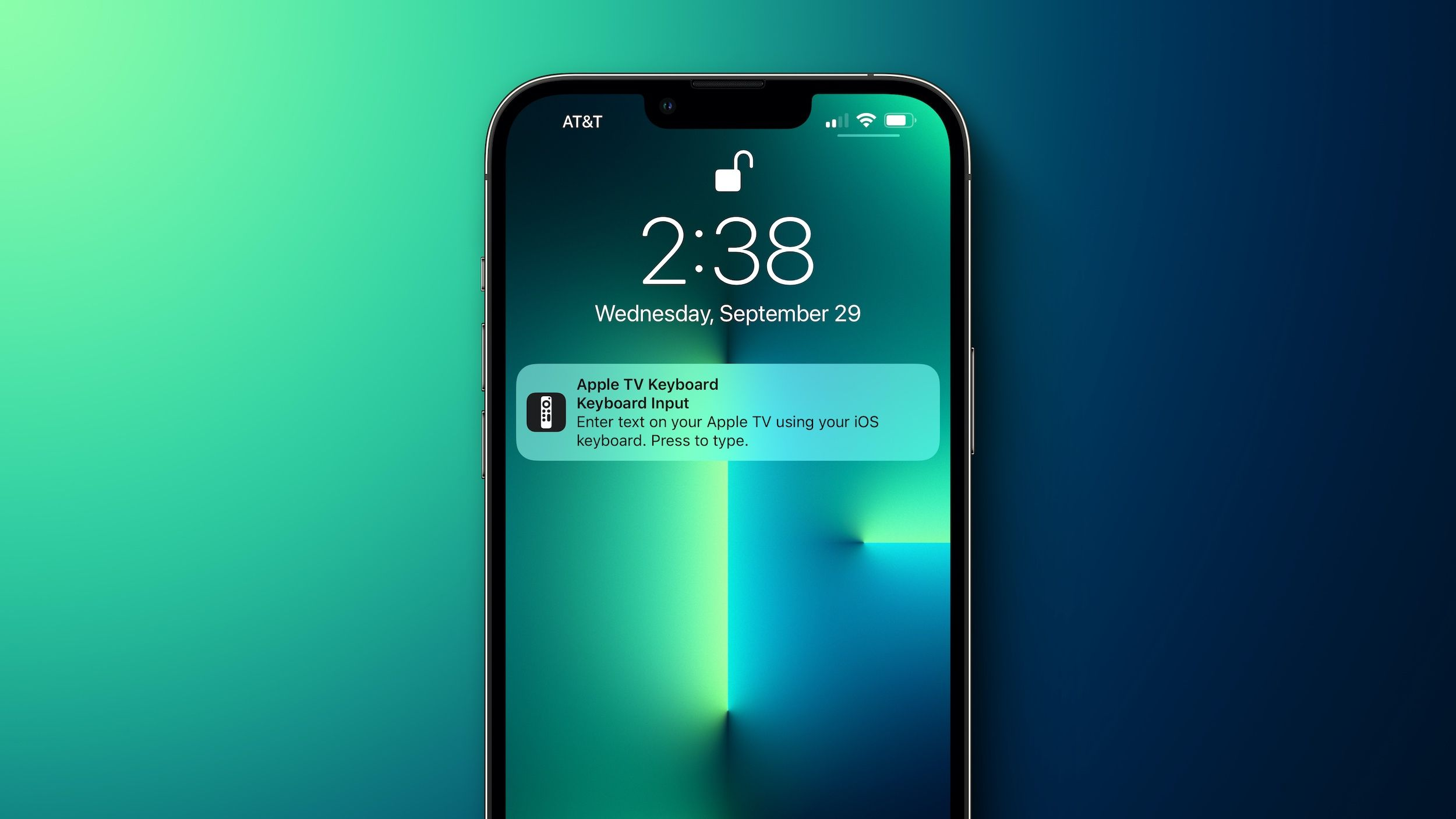 iOS 15 Doesn't Offer a Way to Disable Apple TV Keyboard Notifications