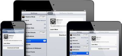 iphone ipad ipad mini update