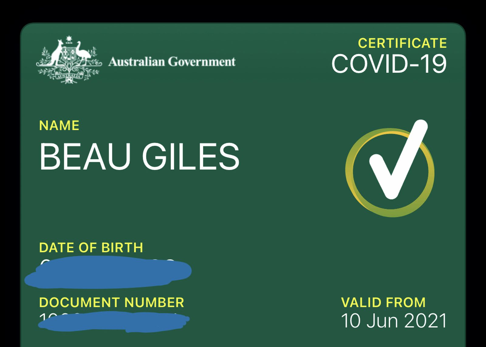 Australian Government Now Offering COVID-19 Digital Vaccination Certificates for Apple Wallet