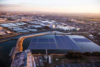 renewable energy ibiden aerial view