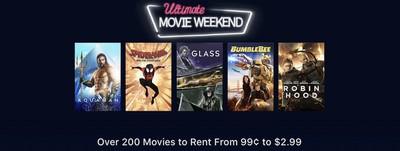 itunes movie weekend