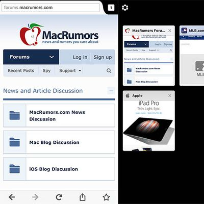 MacRumors Mozilla for iOS