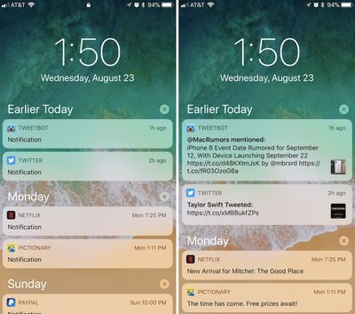 how to show preview ios 11 2