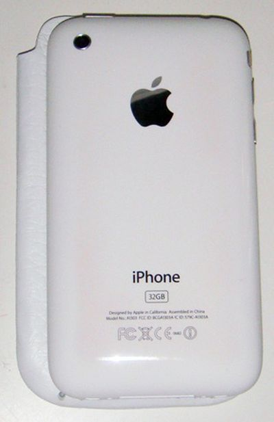 155013 iphone 3gs discoloration