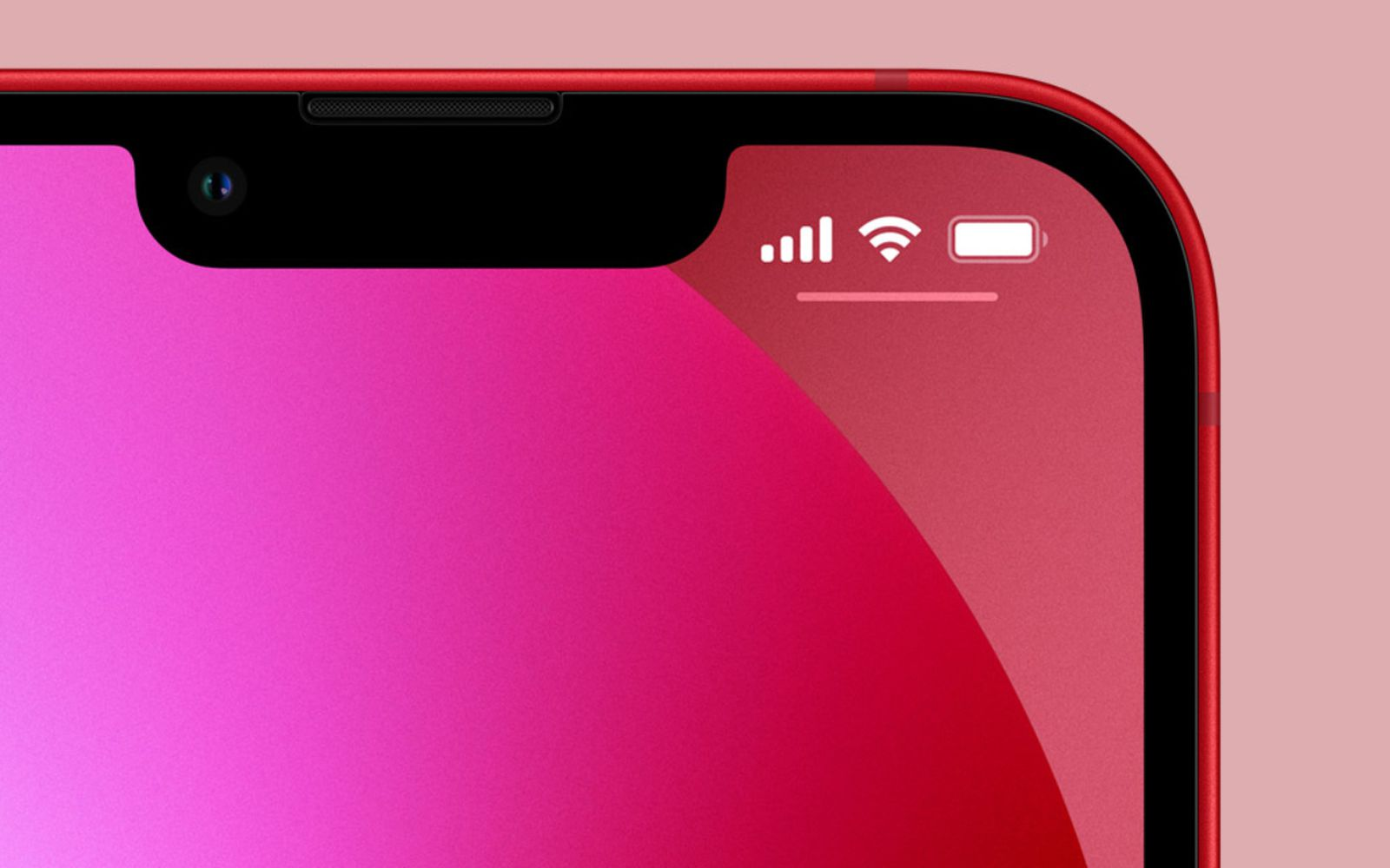 iPhone 13 Still Doesn't Display Battery Percentage in the Status Bar, Despite Smaller Notch - MacRumors