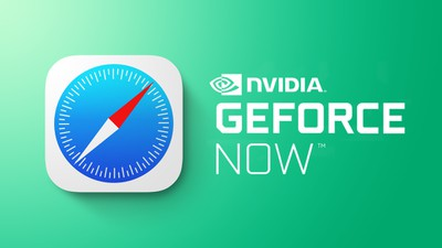 nvidia gefore now on safari feature