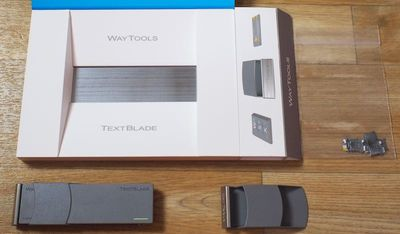 textbladeoutofbox