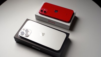 iphone 12 mini pro max boxes