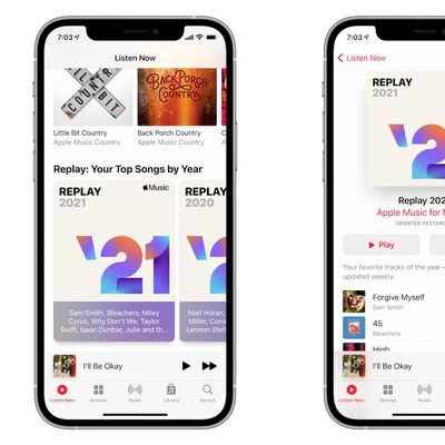 apple music replay 2021