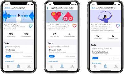apple research app trio