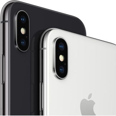 iphone x black white