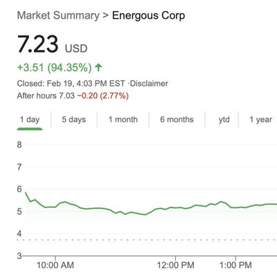 energous stock 19feb2021