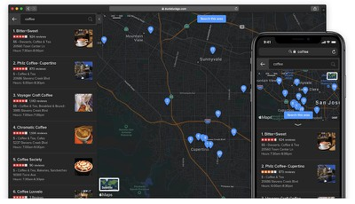 duckduckgo dark mode apple maps