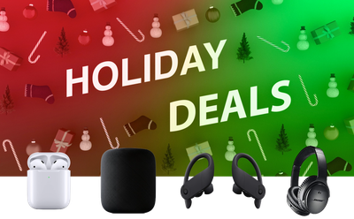 Last Minute Holiday Deals On Audio Products Include 200 Homepod And Powerbeats Pro Macrumors