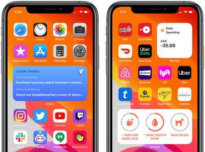 ios 14 third party home screen widgets 2