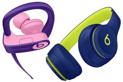 Beats Solo3 And Powerbeats3 Wireless Headphones Get New Pop Collection Of Colors Macrumors