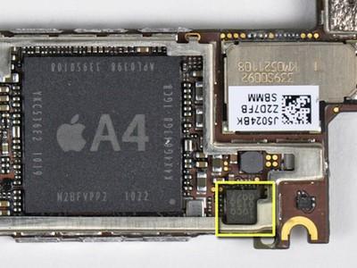 iphone 4 audio chip