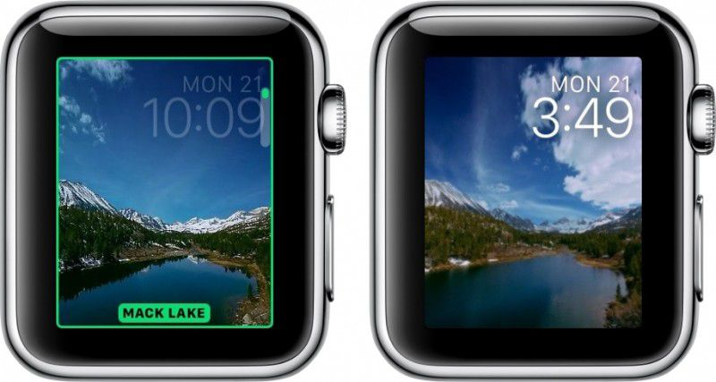 how to time lapse watch face watchos 2