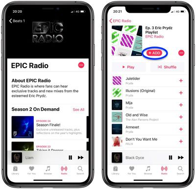 how to find the Beats 1 radio archive apple music 1