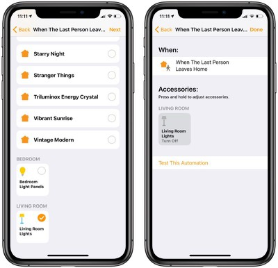 create homekit automations for people 1