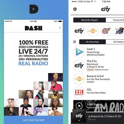 dash radio 1
