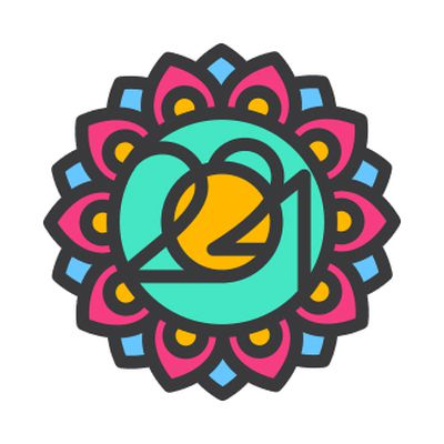 16x9 badge yoga day 2021