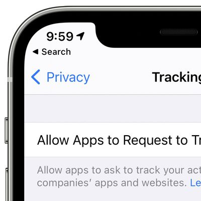 tracking disabled ios 14 5