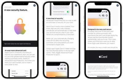 apple card advanced fraud protection