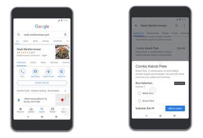 google apps food ordering
