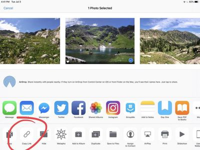 ios 12 icloud photo sharing link