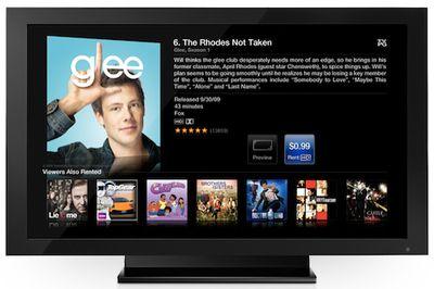 apple tv glee
