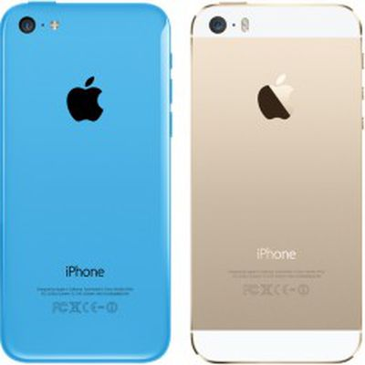 5c and 5s