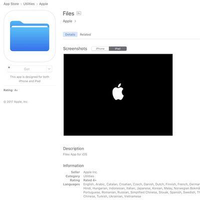 files app ios 11