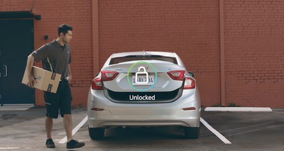 amazon key in car image