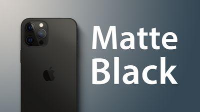 iPhone 13 Matte Black Feature