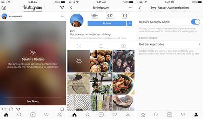 instagram update privacy
