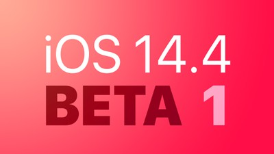 Apple Seeds First Betas of iOS 14.4 and iPadOS 14.4 to Developers