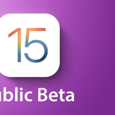 General iOS 15 public Feature