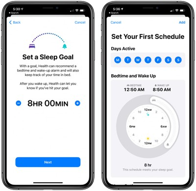 ios14sleepschedulesetup