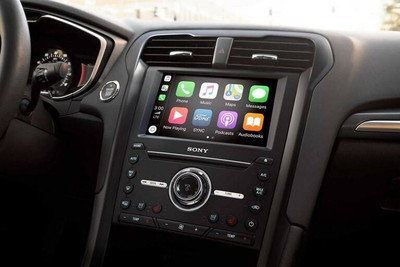 carplay sync 3 ford