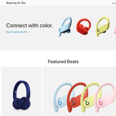 beats by dre landing page