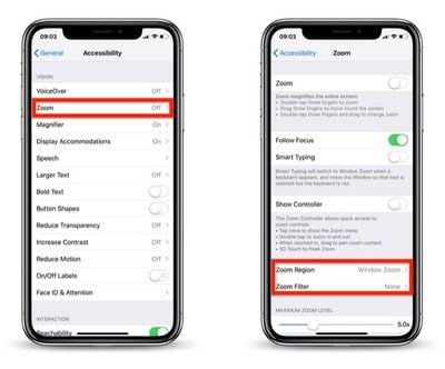 how to reduce screen brightness further in iOS 3
