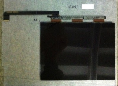 leaked ipad 3 display