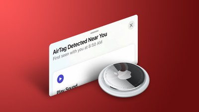 AirTag Detected Near You Feature