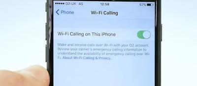 wifi calling o2