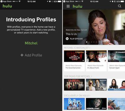 hulu-profiles-update