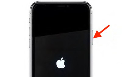 iphone x xs 11 power on