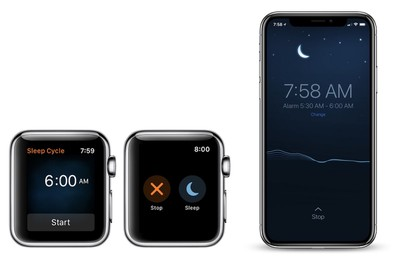 sleep cycle apple watch